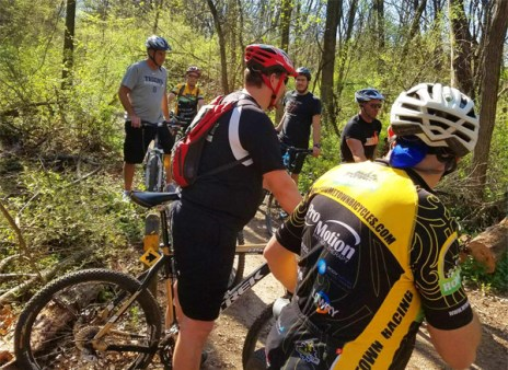 Hometown Bicycles Exploring Trails Mountain Bike Shop Ride