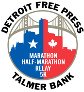 Detroit Free Press Marathon logo