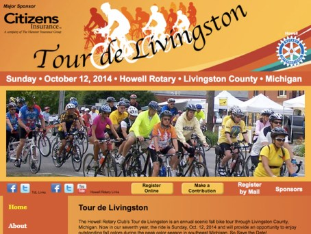 Tour de Livingston website