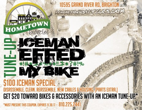Hometown Bicycles Iceman Effed My Bike Tune-Up Special Coupon