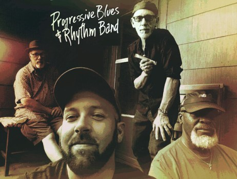 Progressive Blues and Rhythm Band with CycloDan Tribble coming to Hometown Bicycles