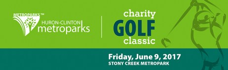 Huron-Clinton Metroparks Charity Golf Classic at Stony Creek Metropark header