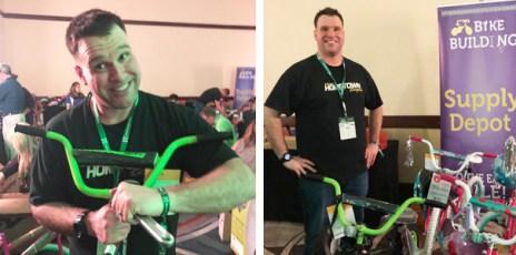 Team Hometown Bicycles Sponsor Mike Kearns of Kearns Brothers, Inc.