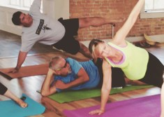 Vinyasa Yoga with Ashley Knuth of Tocca Massage and Yoga