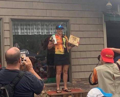 Lorelei Smith at Traverse City Trails Fest