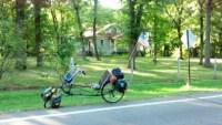 Dick Janson's recumbent bike
