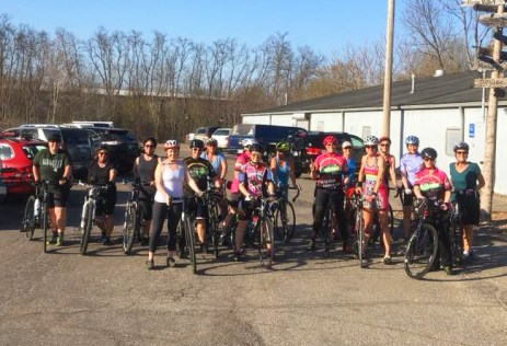 Hometown Bicycles Women Only Tuesday Night Road Ride