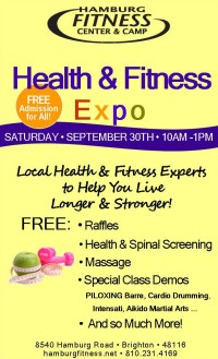 Hamburg Fitness Center Health and Fitness Expo
