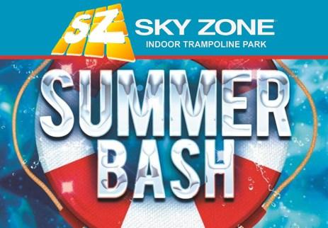Sky Zone Indoor Trampoline Park Summer Bash