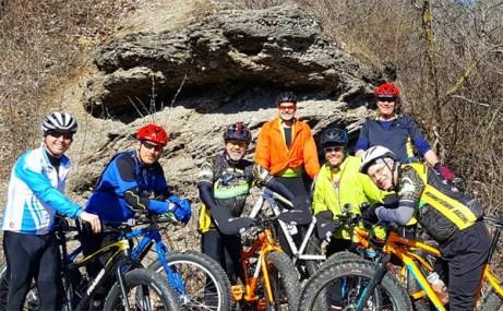 Hometown Bicycles Fat Bike Friendly Shop Ride at Island Lake Badlands