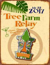 Tree Farm Relay 2017 poster