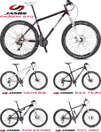 Jamis Demo Mountain Bikes