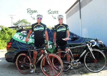Ryan Erxleben, Scott Hoffner, Hometown team champs