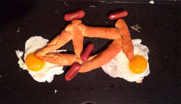 Turn Your Breakfast into a Bike Contest Winner