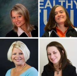 Kelly A. Myers of Myers and Myers, PPLC, Colleen Fitzgerald of Sky Zone Indoor Trampoline Park, Lisa Nelson of Hush Intimate Apparel, and Dr. Tianna Rooney of Perspectives Therapy Services