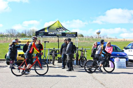 Hometown Bicycles at the MCMBA Island Lake Spring Bike Demo Day