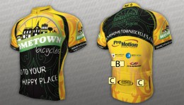Team Hometown Bicycles kit sponsors