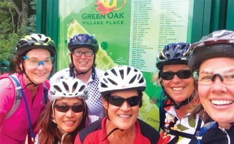 Hometown Bicycles Green Gals women-only mountain biking