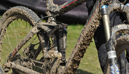 Mud on Iceman bike