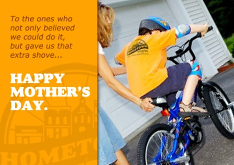 Happy Mother's Day from Hometown Bicycles