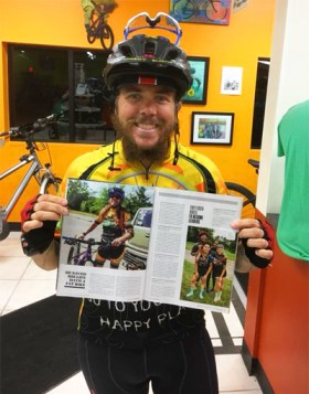 Team Hometown Bicycles' Jacob Henriksen featured in Bicycling Magazine