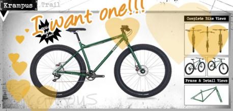 Surly Krampus Trail fat bike - Demo at Hometown Bicycles on June 7