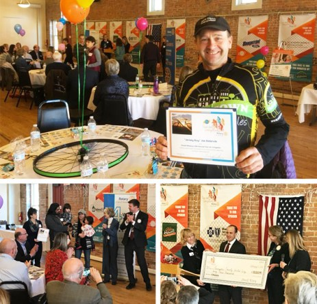 Hometown Bicycles receives awards at Tour de Livingston Thank You Luncheon