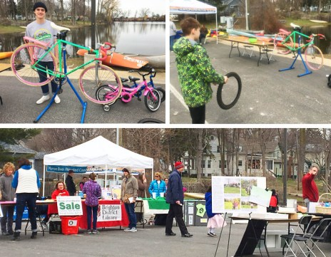 Hometown Bicycles at Downtown Brighton Earth Day Event 2018