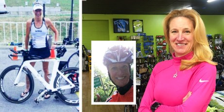 Triathlons 101 Clinic with Amy Gluck at Hometown Bicycles in Brighton, Michigan