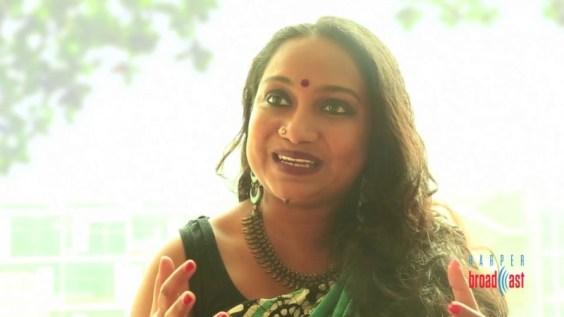 In conversation with Sharanya Manivannan