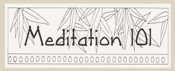 Meditation 101 News