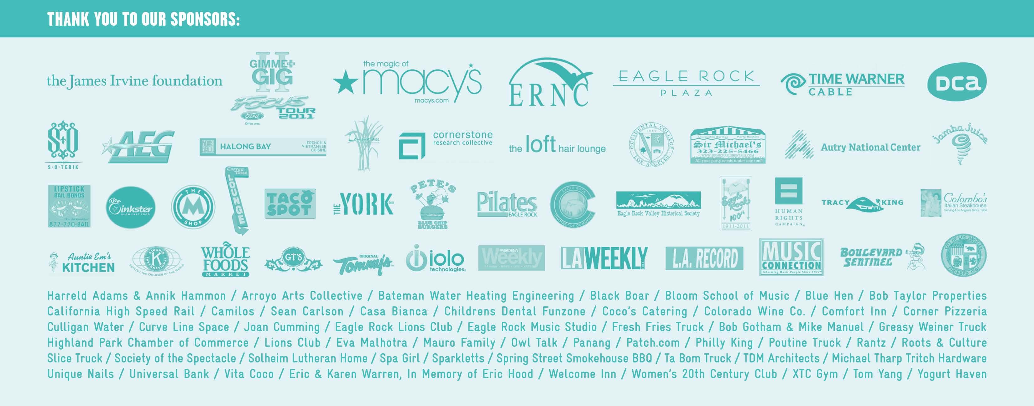Eagle Rock Music Festival | Eagle Rock Music Festival