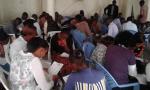 Praying at the Prayer Boot Camp