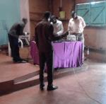 The electronics team