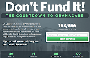 """""""Don't Fund It"""" Petition"""
