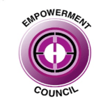 Empowerment Council Logo of a purple target.