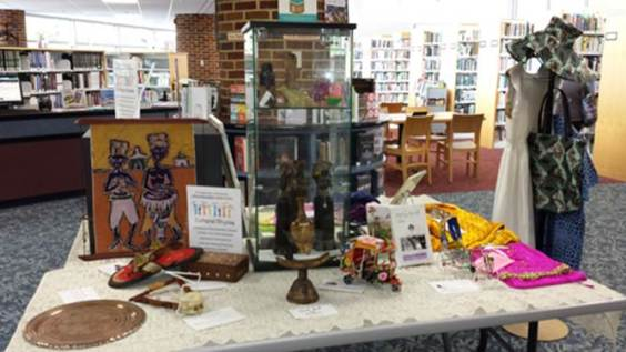 Alexandria Library welcomes you to join the celebration by getting a library card at one of our Pop-Up events or your local library branch.
