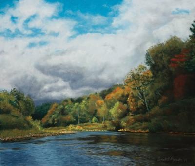 autumn in the valley by bernadette e. kazmarski