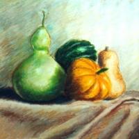 Squashes by Bernadette E. Kazmarski