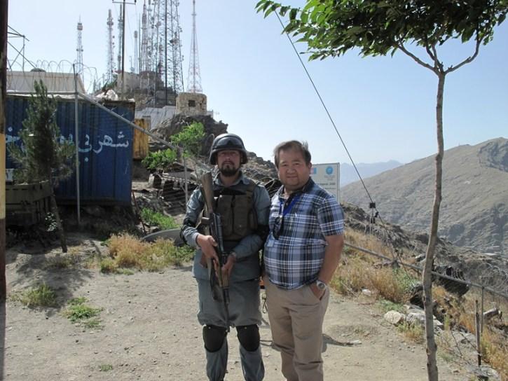 James Llorca and Field Assistant