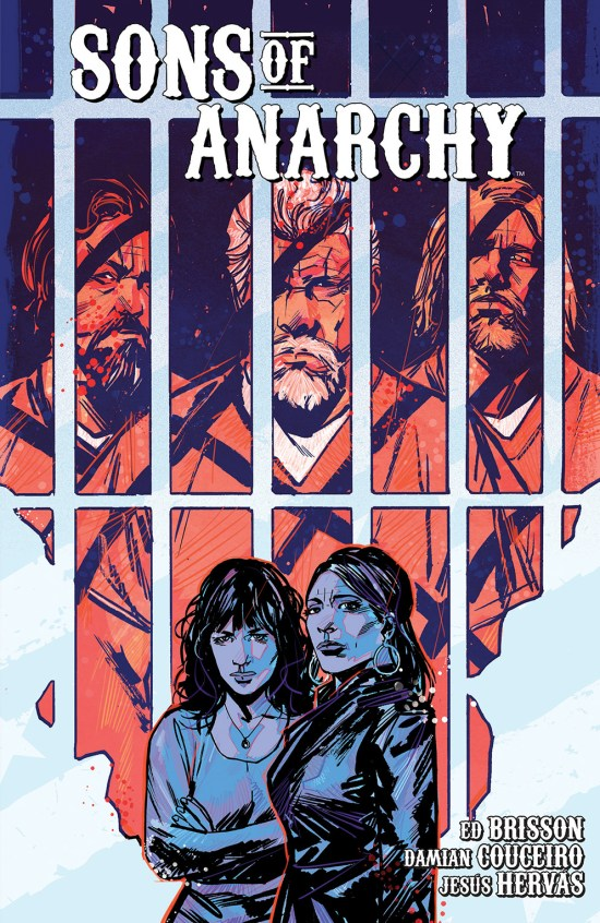 Sons of Anarchy Vol. 2 TP Cover by Garry Brown