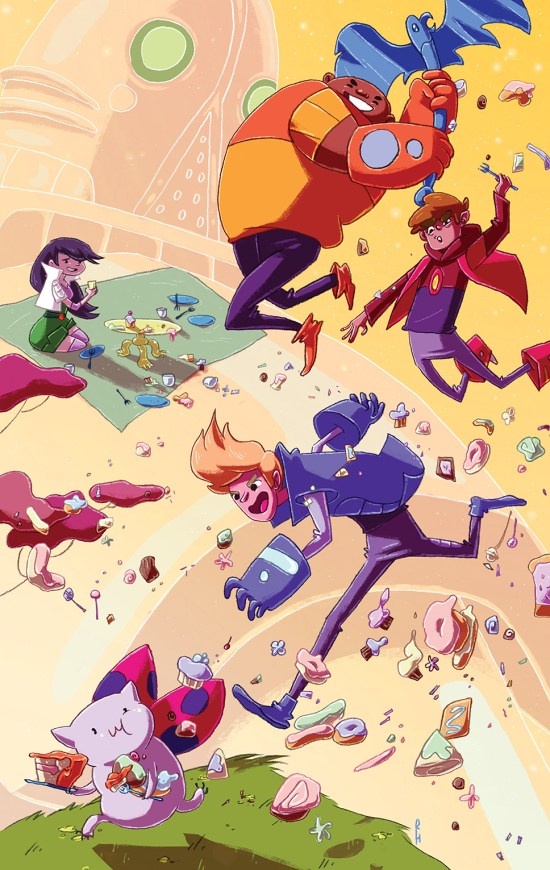 Bravest Warriors #28 Cover C by Rachael Hunt