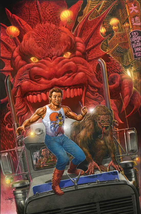 BIG TROUBLE IN LITTLE CHINA #1 Cover C by Chris Weston
