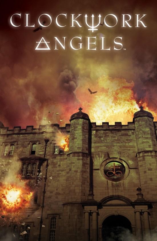 CLOCKWORK ANGELS #4 Cover by Hugh Syme