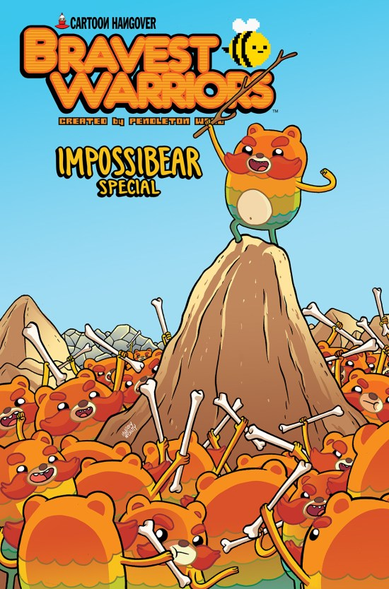 BRAVEST WARRIORS 2014 IMPOSSIBEAR SPECIAL #1 Cover A by Ian McGinty