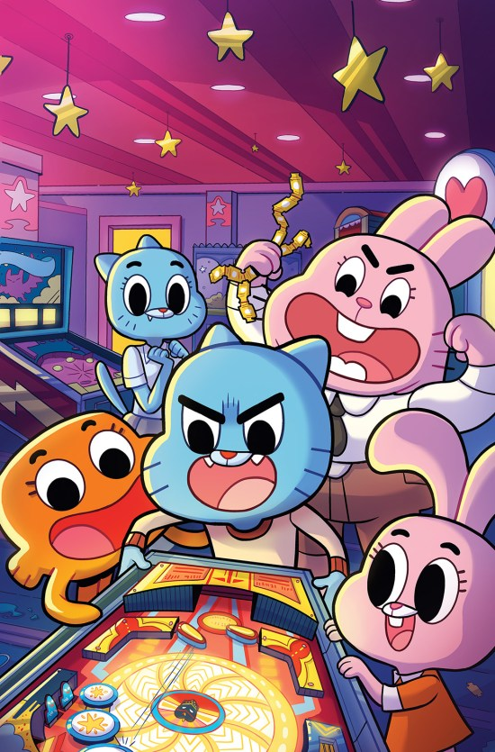 THE AMAZING WORLD OF GUMBALL #1 Cover C by Paulina Ganucheau