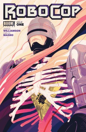 ROBOCOP #1 Cover A by Goni Montes