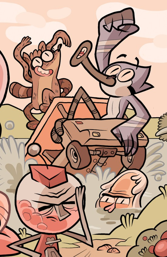 Regular Show #13 SDCC