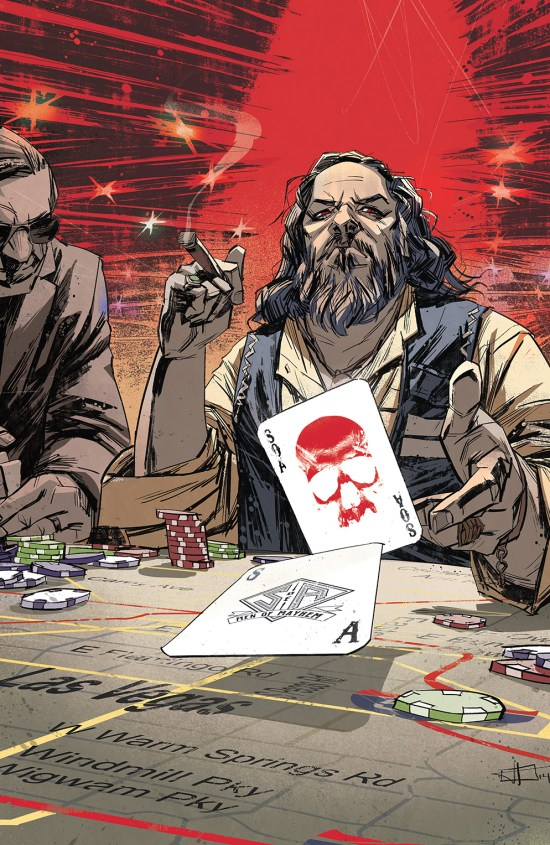 Sons of Anarchy #17 Cover by Toni Infante