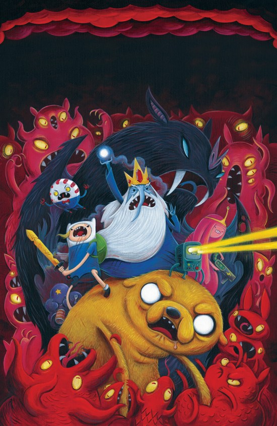 Adventure Time #36 Cover A by Justin Hillgrove